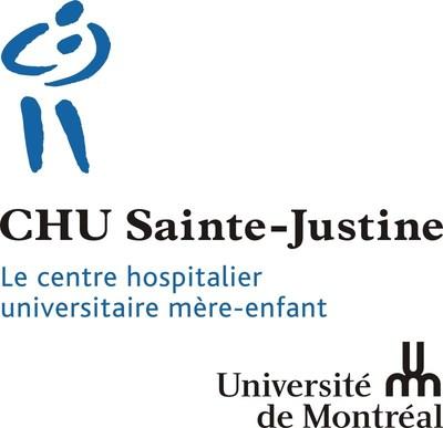 Logo : CHU Sainte-Justine (Groupe CNW/Fondation CHU Sainte-Justine)