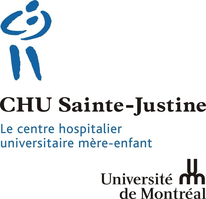 Logo: CHU Sainte-Justine (CNW Group/CHU Sainte-Justine Foundation)