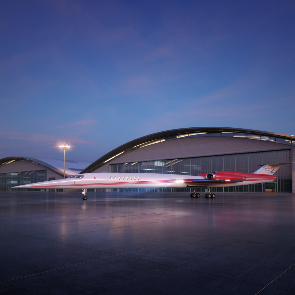 The Aerion AS2 supersonic business jet will fly in 2023