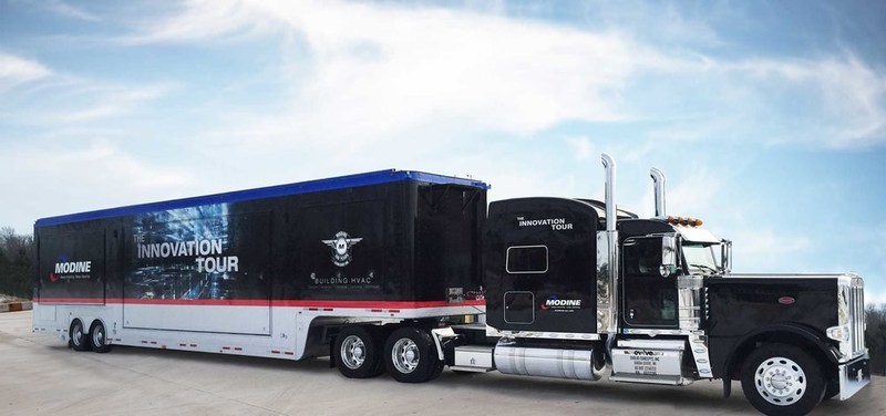 Traveling across North America, Modine's 2017 Innovation Tour will feature professional development seminars and showcase the latest products in the HVAC industry.