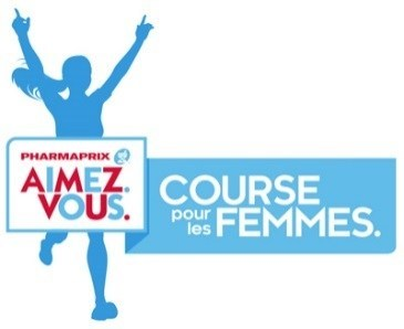 Logo : La Course pour les Femmes PHARMAPRIX AIMEZ.VOUS. (Groupe CNW/Pharmaprix)