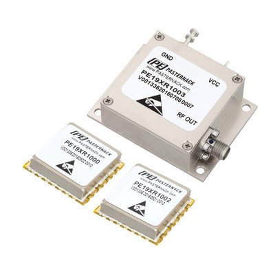 Pasternack Introduces New Free-Running Reference Oscillators with Output Frequencies of 10 MHz, 50 MHz and 100 MHz