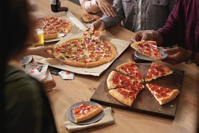 Pizza Hut offers delicious deals to celebrate National Pizza Party Day (May 19), including Large Two-Topping pizzas at $7.99 when ordered online.