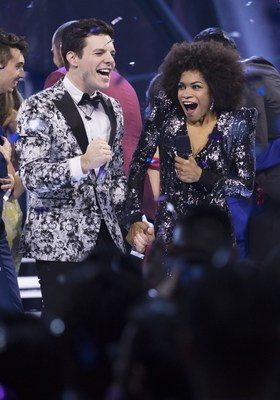 Kevin Martin of Calgary, Alta. is crowned the winner of Big Brother Canada Season 5 (CNW Group/Corus ...