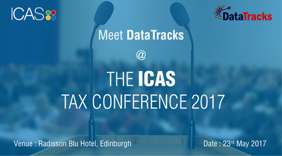 Meet DataTracks at the ICAS Tax Conference 2017 (PRNewsfoto/DataTracks Services Limited)