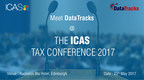 Meet DataTracks at the ICAS Tax Conference 2017 (PRNewsfoto/DataTracks Services Limited)