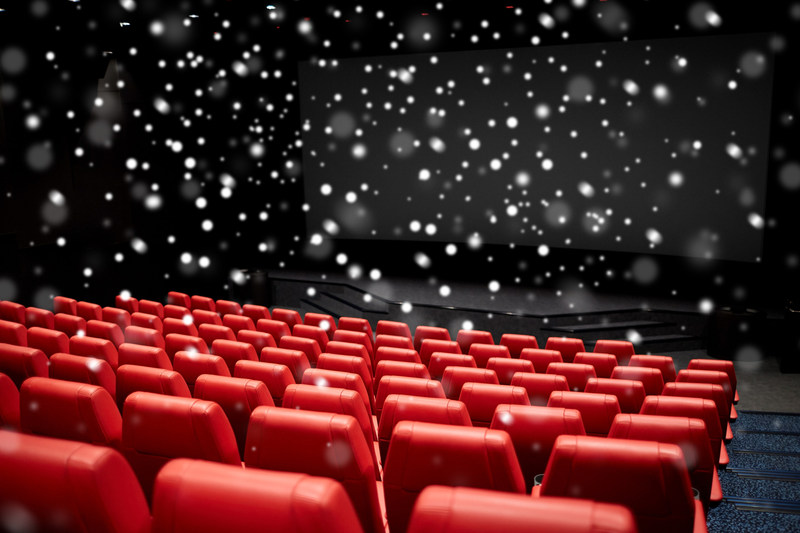 Snowy Theatre Audience