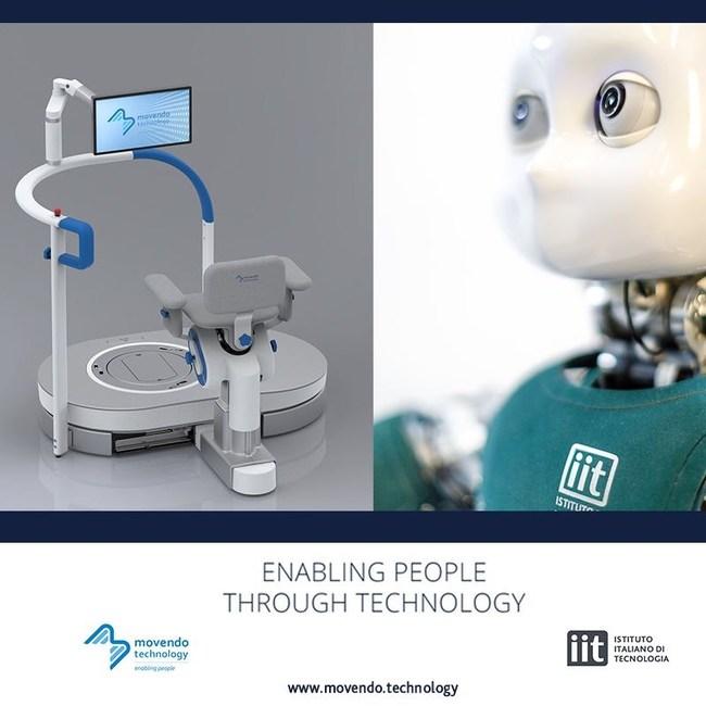 Istituto Italiano di Tecnologia and Movendo Technology launch Hunova, the first rehabilitative robot