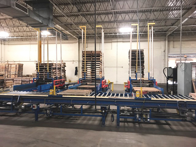 Greenway Automated Pallet Sorter