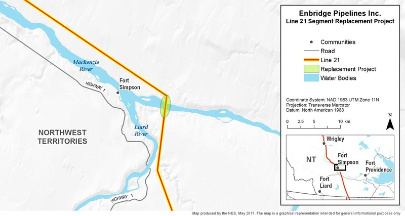 Enbridge Pipelines Inc. - Line 21 Segment Replacement Project (CNW Group/National Energy Board)