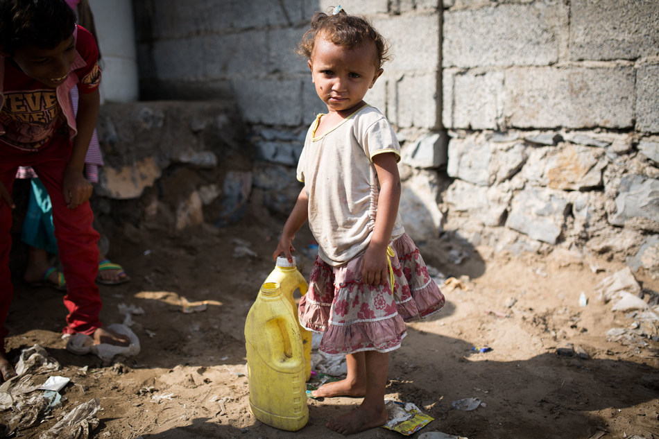 The United Nations warns that two thirds of Yemen's population is without safe drinking water. Photo: Florian Seriex for Action Against Hunger, Yemen