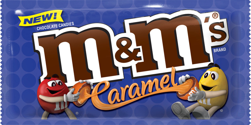 M&M'S® Caramel Chocolate Candies take center stage at the 2017 Sweets & Snacks Expo in Chicago this week. Mars Chocolate North America launched this innovative treat earlier this month. It features a delectable combination of rich, milk chocolate with a smooth caramel center – and it is coated in the world-famous colorful candy shell. They will be available in three sizes: 1.41-ounce singles, 2.83-ounce share size, and 9.9-ounce sharing size stand-up pouch.