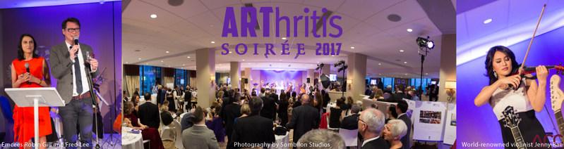 2017 ARThritis Soirée Raises a Record Breaking $390,000 for Arthritis Research Canada (CNW Group/Arthritis Research Canada)