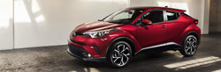 The 2018 Toyota C-HR is now available at Toyota Vacaville.