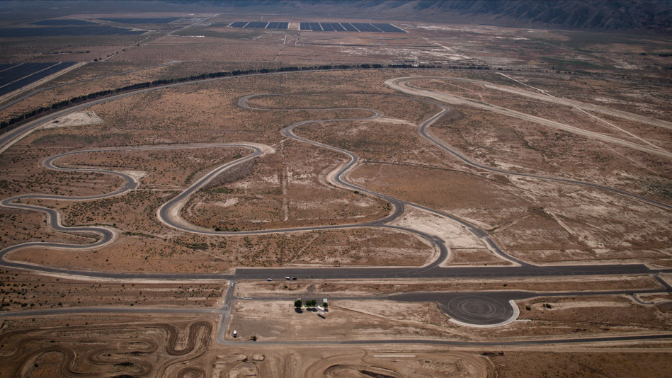 The renovated Honda Proving Center (HPC) is once again primed to test the capabilities of the company's automobiles, motorcycles, side-by-sides and ATVs against the dramatic back drop of the Mojave Desert, near Cantil, California.