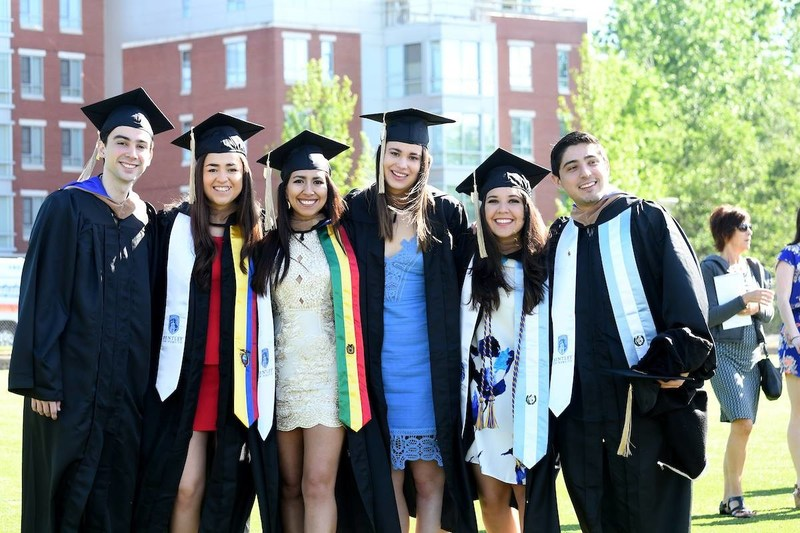 Bentley University graduates urged to define their own success and embrace life's unexpected lessons at Commencement ceremonies on May 20, 2017.