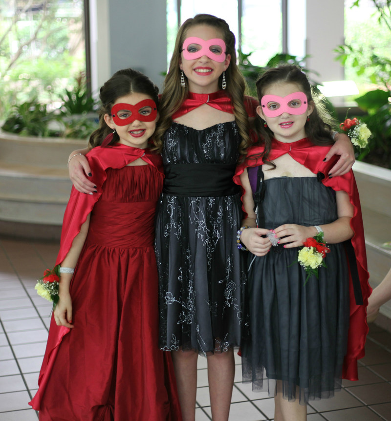 Patients at St. Joseph's Children's Hospital in Tampa trade their hospital gowns for formal attire and prepare to dance the night away during a Superhero-themed prom held in the hospital's auditorium Friday, May 19, 2017. Photo by Kim Wallace