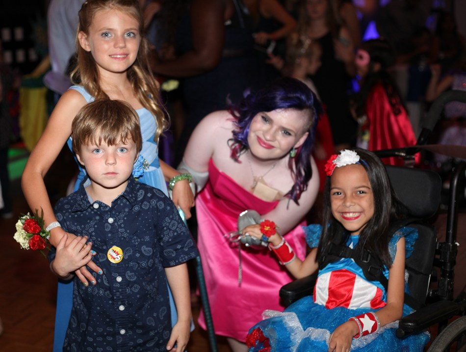 Patients at St. Joseph's Children's Hospital in Tampa enjoy music, dancing and dinner during a prom held in their honor Friday, May 19, 2017. The hospital hosts the annual event for patients who were unable to attend their own school dance due to hospitalization or who, due to chronic or life-threatening conditions, may never have the opportunity. Photo by Kim Wallace