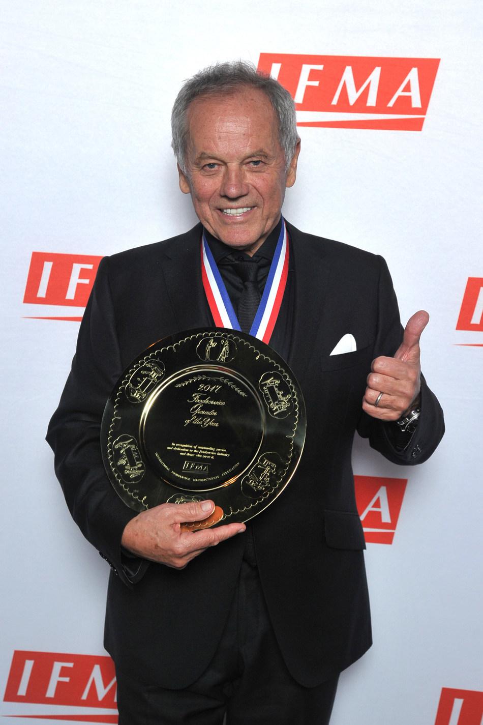 Wolfgang Puck, IFMA's 2017 Gold Plate Winner