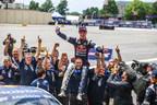 Sebastian Eriksson conquista primer triunfo en la serie Global Rallycross para Honda