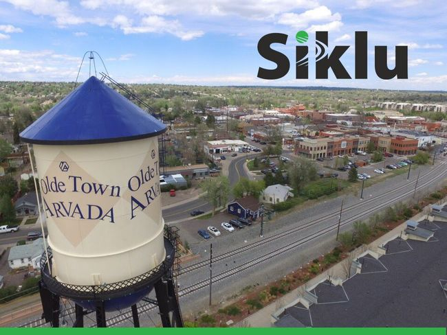 Siklu links boost capacity in Arvada, Colorado from 1.5Mbps to 1Gbps