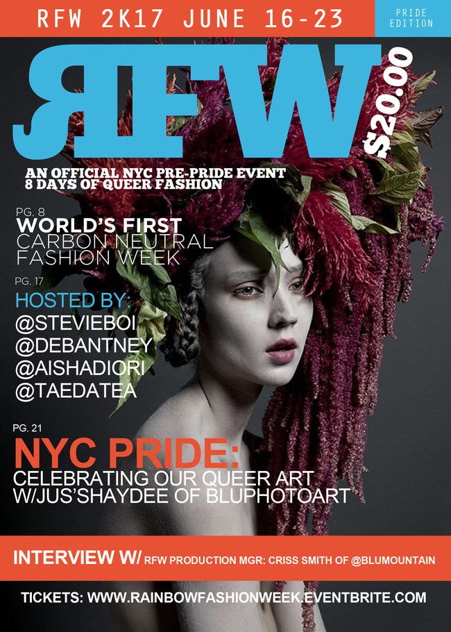 Rainbow Fashion Week Official Flyer