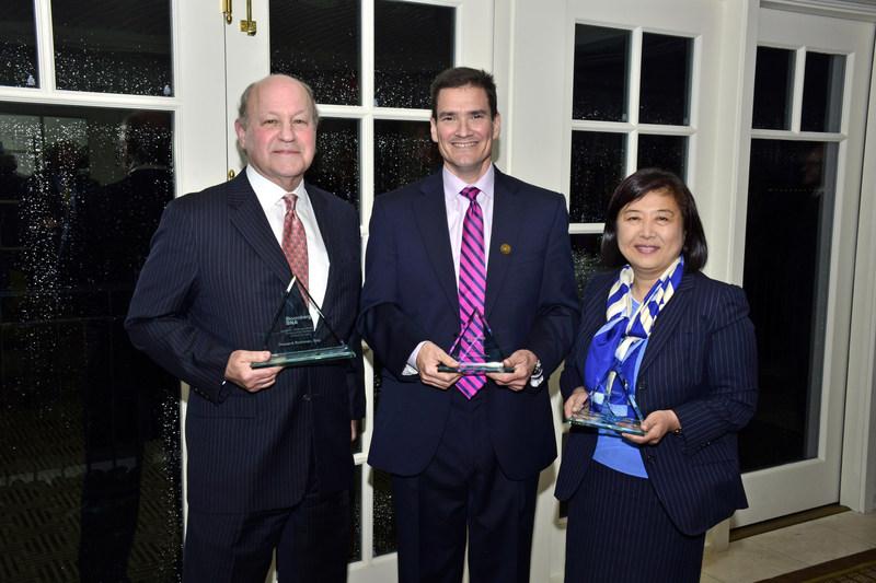 Bloomberg BNA's 2016 Federal Tax Award recipients (left to right): Howard Kramer, Naftalis & Frankel; Carlos Gonzalez, BenefitsPuertoRico.com; and Grace Kim, Grant Thornton.