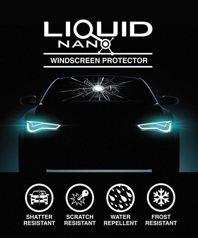 LiquidNano Launches new DIY Windshield treatment