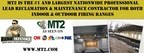 The Nation's Largest Firing Range Contractor, MT2, Announces New Proprietary Range Filter Technology to Properly Dispose of Lead Contaminated Hazardous Range Waste