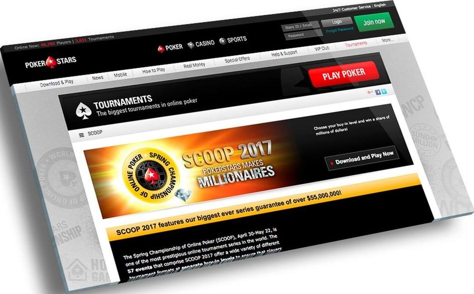SCOOP 2017 (PRNewsfoto/PokerStars)