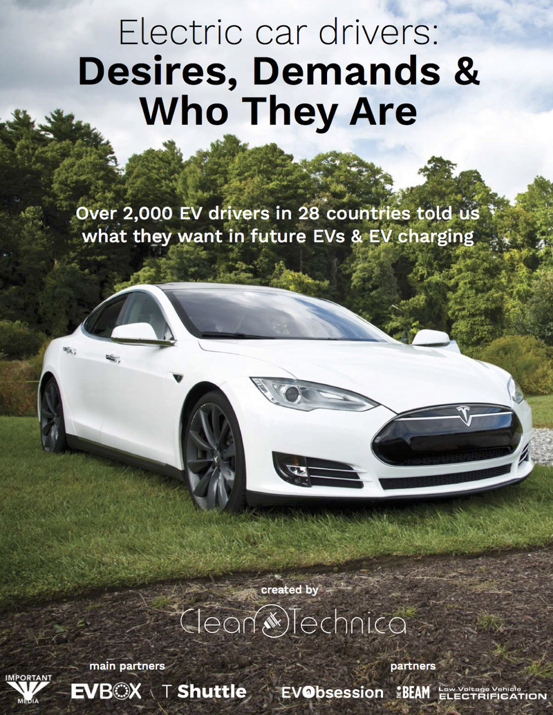 Electric Car Drivers: Desires, Demands & Who They Are