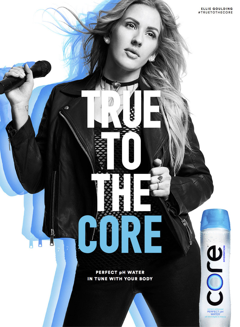 Ellie Goulding for #TrueToTheCORE