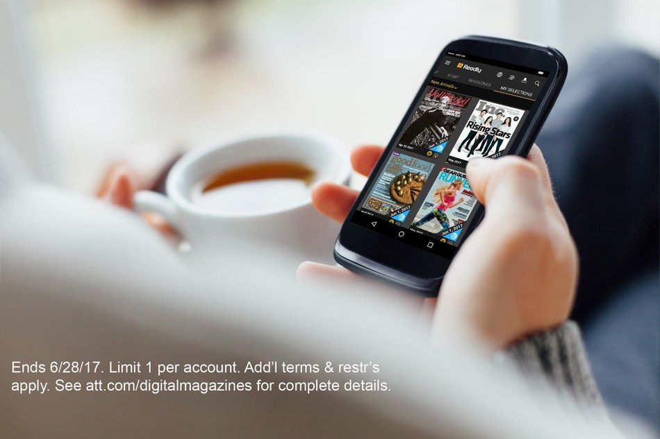 New version of digital reading app, Readly Select, now gives access to over a thousand magazines to eligible AT&T wireless, DIRECTV and AT&T internet customers.