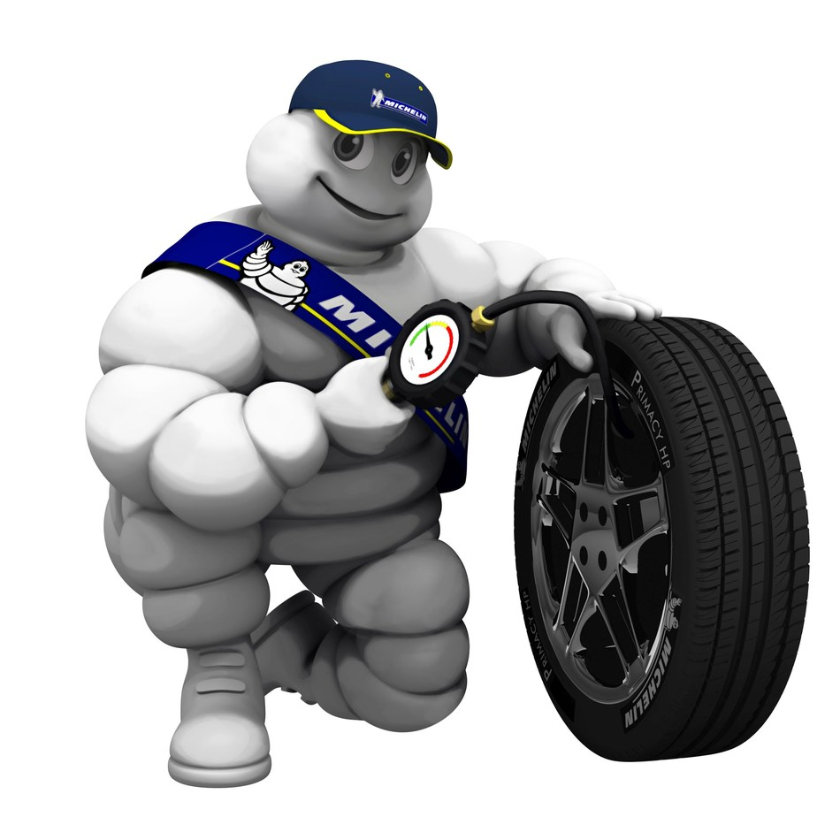 Incorrect tyre pressure affects braking distance, vehicle handling, safety and fuel consumption (PRNewsfoto/Michelin AIM)