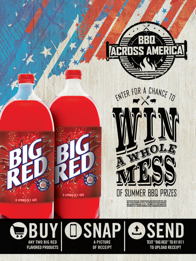 Big Red Soda's BBQ Across America Campaign
