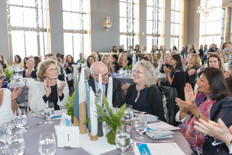 Scientists, educators, business and community leaders from the tri-state region attended the Feinstein Institute's AWSM luncheon to celebrate and support excellence and achievements of women in science.