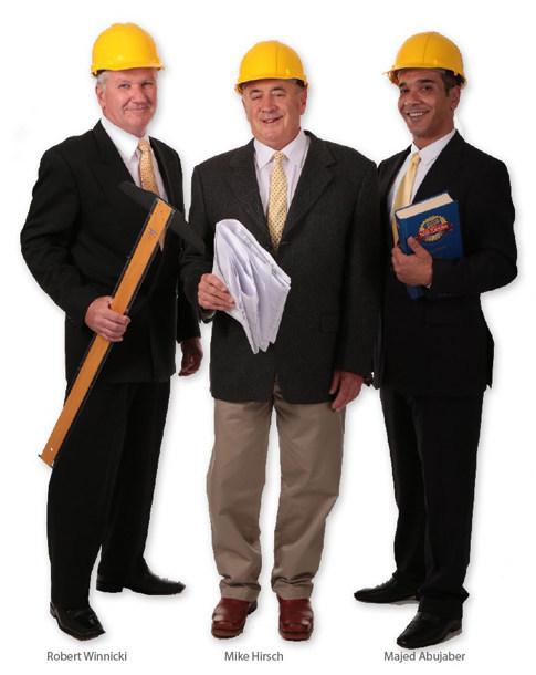 The MZM Corp. Dreamteam: Michael Hirsch, Robert Winnicki and Majed Abujaber