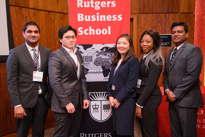 In addition to gaining recognition in national rankings, the Rutgers MBA program produced students who helped to raise the stature of Rutgers Business School in competitions like the annual BioPharma MBA Case Competition.
