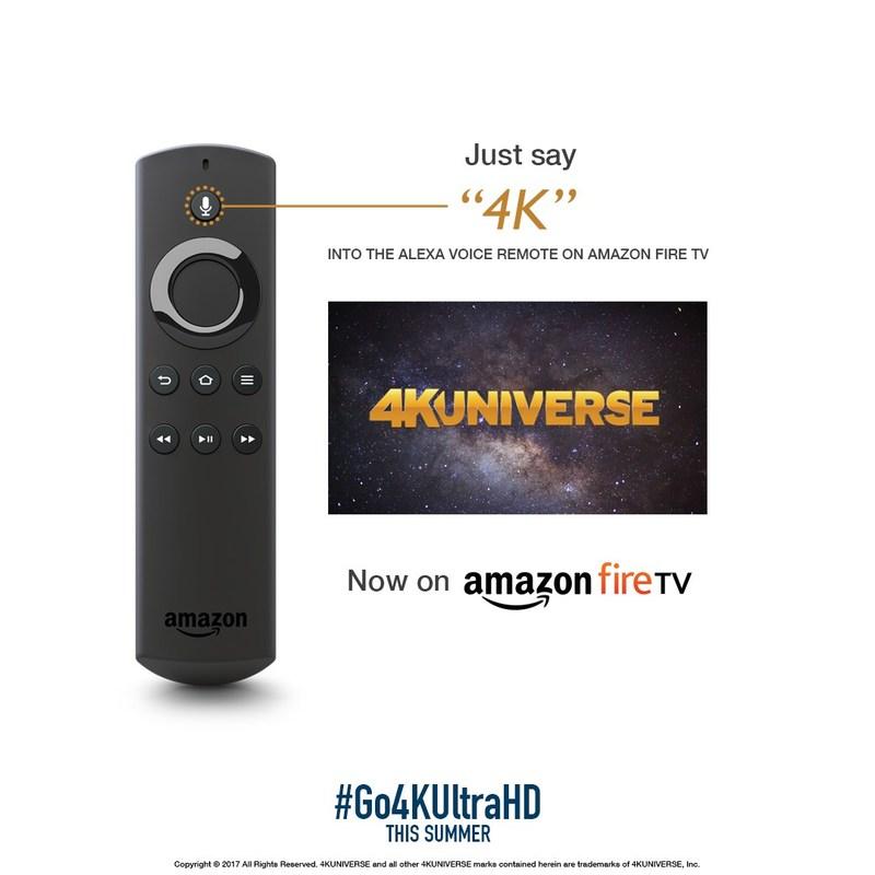 4KUniverse Amazon Fire TV Promo Graphic