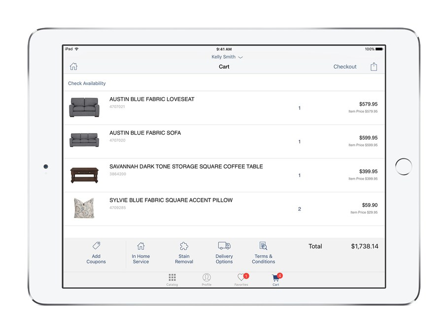 City Furniture Taps IBM For IOS Enterprise Apps To Deliver - What is the best invoice app for ipad online jewelry store