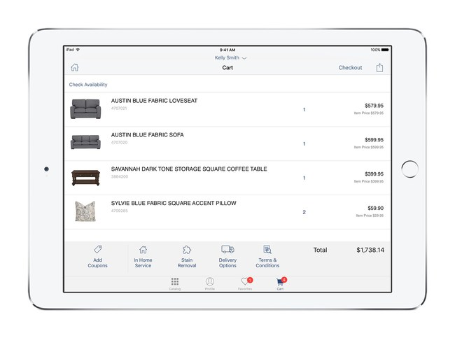 City Furniture Taps IBM for iOS Enterprise Apps to Deliver Personalized In-Showroom Journey