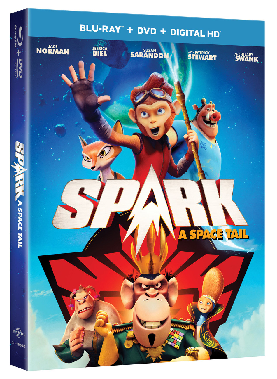 From Universal Pictures Home Entertainment: Spark: A Space Tail