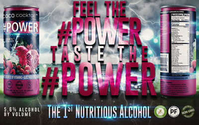 """Healthy Beverages, LLC Achieves FDA Guidelines to Claim COCO COCKTAIL(TM) #POWER as """"The World's 1st Nutritious Alcoholic Beverage"""""""
