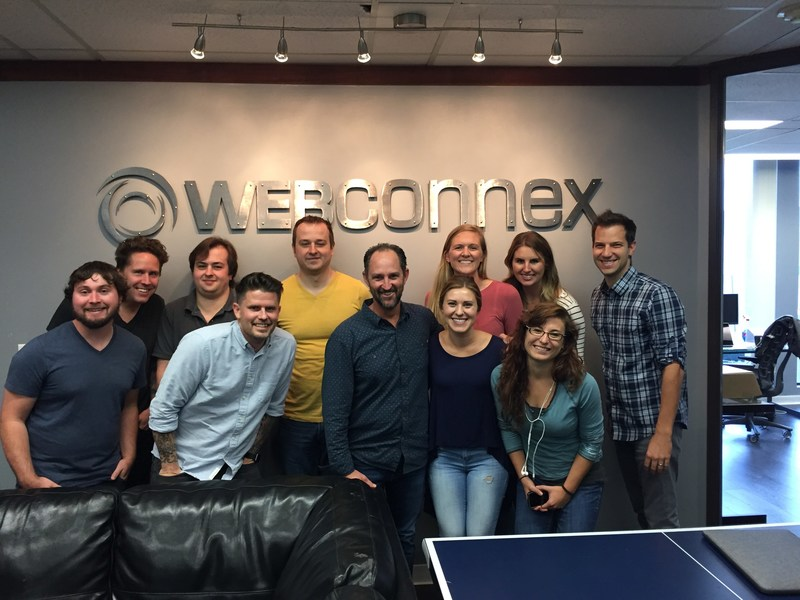 The Webconnex team celebrated together in the Sacramento office and via live videostream, counting down the seconds to the historic $1B mark.