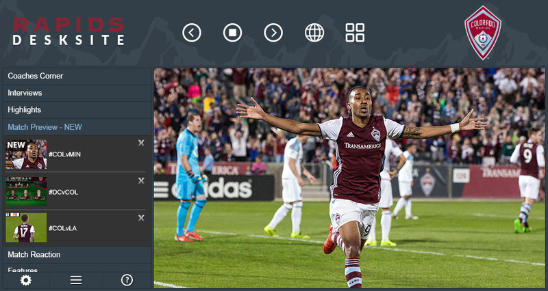 Never Miss a Video with the Rapids DeskSite