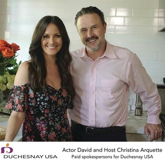 Duchesnay USA Partners with Actor David Arquette and Host Christina Arquette to Shine a Spotlight on a Safe and Effective Morning Sickness Treatment (CNW Group/Duchesnay USA)