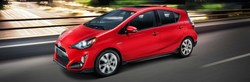 Model review of the 2017 Toyota Prius c in Bloomington, Indiana