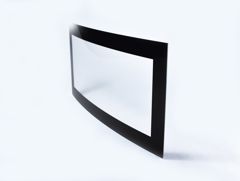 3D curved cover glass