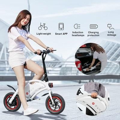 F Wheel Dyu Electric Bike Crowdfunding Breaks 10 Million