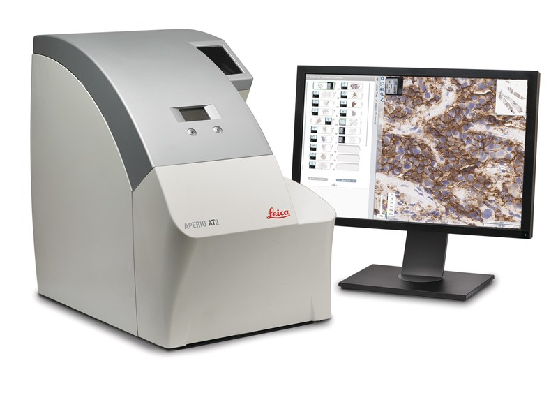Aperio ePathology Solutions will enable rapid sharing and collaboration. This will reduce the need for pathologists to travel and increase patient access especially in remote locations. (PRNewsfoto/Leica Biosystems)